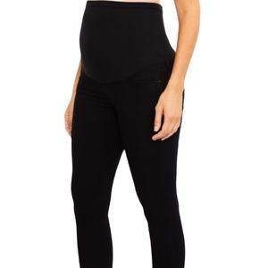 AG Maternity black legging super skinny pants 27